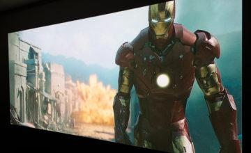 アイアンマン,ホームシアター,映画,感想,プロジェクター,おすすめ