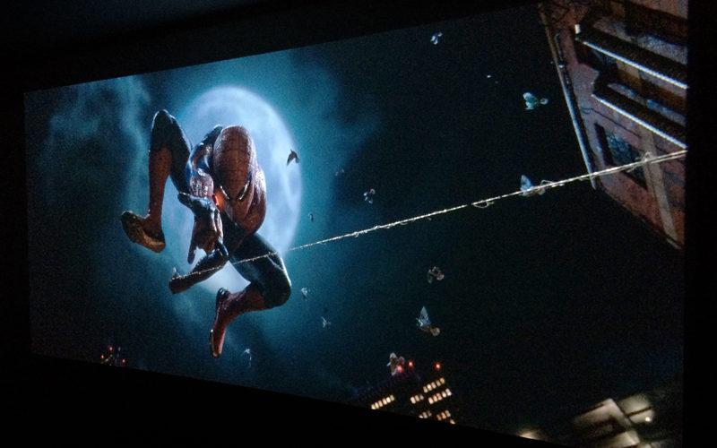アメイジング・スパイダーマン,映画,感想,3D,プロジェクター,アナモフィックレンズ,ホームシアター