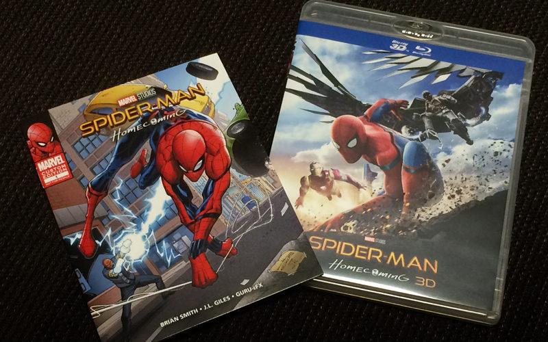 スパイダーマン:ホームカミング,3D,Blu-ray,ホームシアター,プロジェクター
