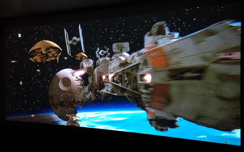 Star Wars EP6,スター・ウォーズ/ジェダイの帰還,ホームシアター,プロジェクター,アナモフィックレンズ