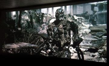 ターミネーター4,Terminator Salvation,プロジェクター,アナモフィックレンズ,映画