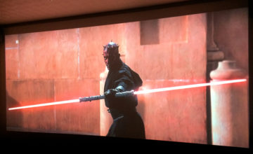 スター・ウォーズ/ファントム・メナス,Star Wars EP1,プロジェクター,ホームシアター,映画