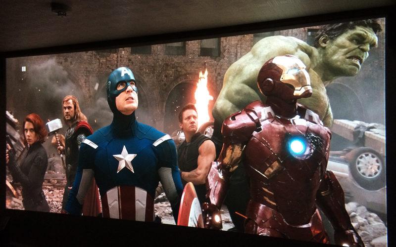 アベンジャーズ,Avengers,プロジェクター,ホームシアター