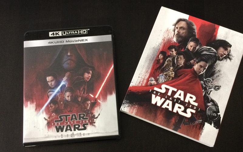 スター・ウォーズ/最後のジェダイ,4K UHD,3D,Blu-ray