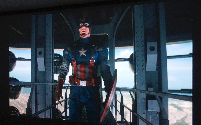 キャプテン・アメリカ/ウィンター・ソルジャー,ホームシアター,プロジェクター
