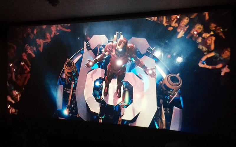 アイアンマン2,ホームシアター,プロジェクター