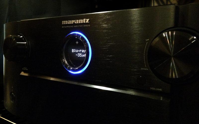 マランツ SR8012,ホームシアター,AVアンプ