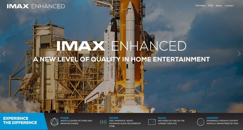 IMAX Enhanced発表,ホームシアター