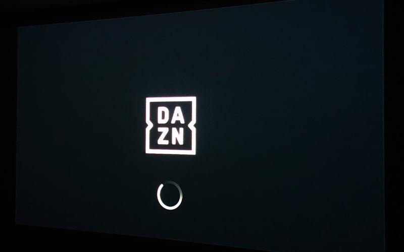 DAZN,プロジェクター,ホームシアター
