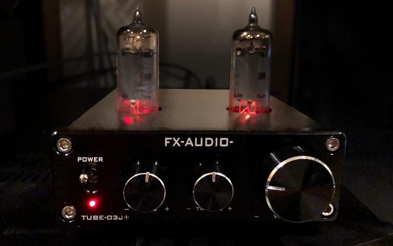 FX-AUDIO-TUBE-03J+,真空管アンプ