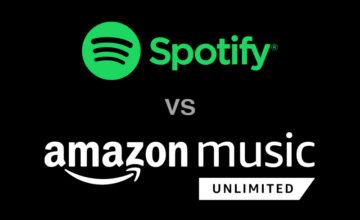 Spotify,スポティファイ,Amazon Music Unlimited,アマゾンミュージック