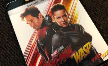 アントマン&ワスプ,3D Blu-ray,4K UHD