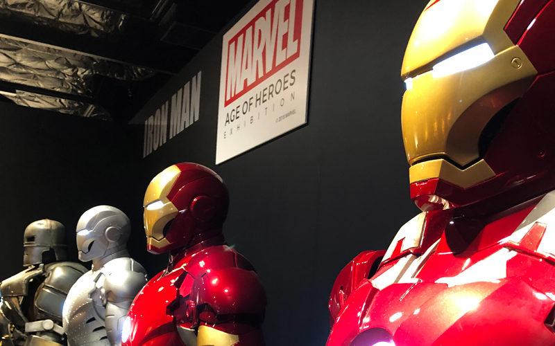 マーベル展,大阪グランフロント