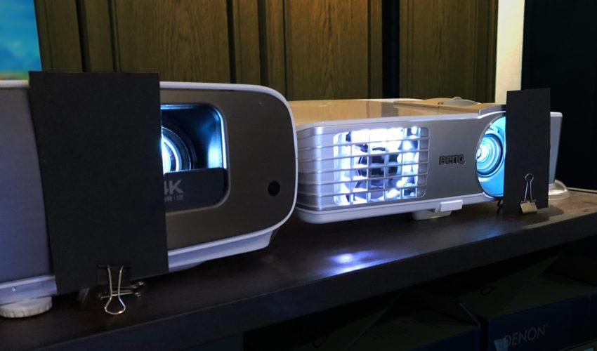 BenQ HT3550 vs BenQ W1070+