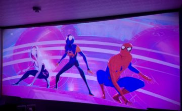 スパイダーマン:スパイダーバース,映画,プロジェクター,ホームシアター