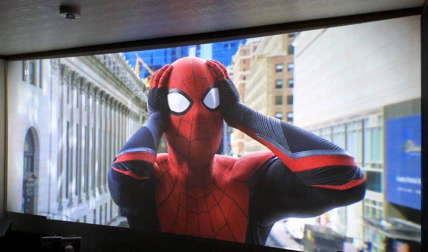 スパイダーマン;ファア・フロム・ホーム,ホームシアター,映画,プロジェクター