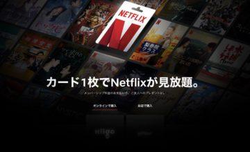 Netflix,プリペイドカード,視聴方法