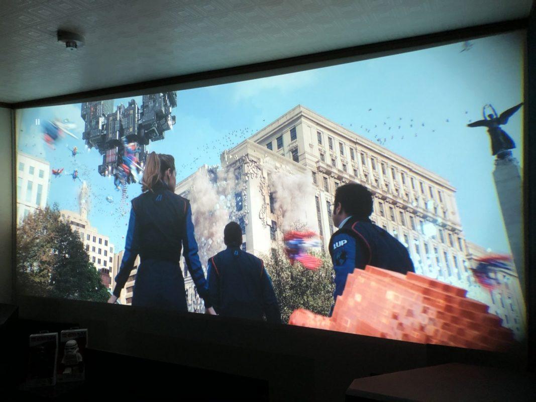 ピクセル,pixels,映画,ホームシアター