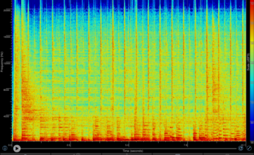 Apple TV,Fire TV,音の差,Spectrogram