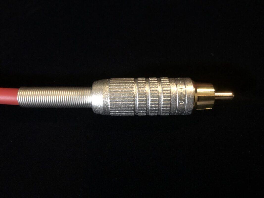RCA-XLSケーブル,パワーアンプ入力用RCAケーブル