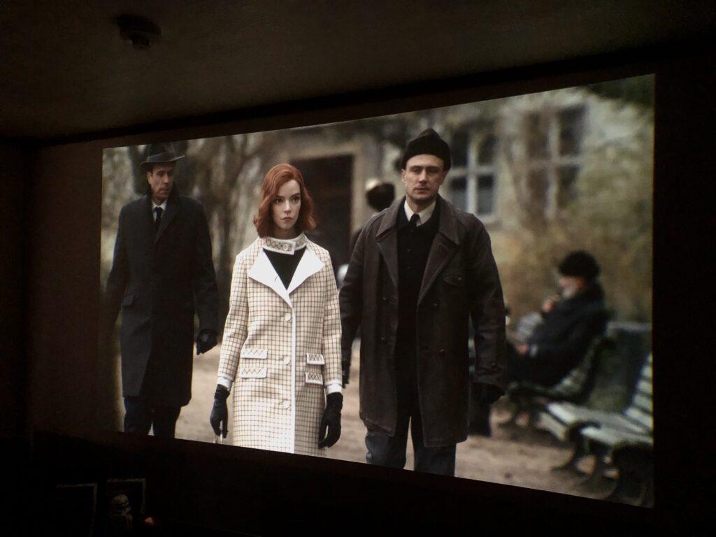 クイーンズ・ギャンビット,Netflix,ドラマ,ホームシアター